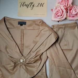 [KM Collections by Milla Bell] 2-Pc Evening Wear